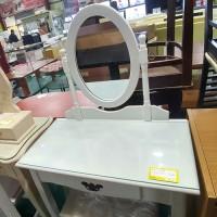 화장대+의자(화이트)